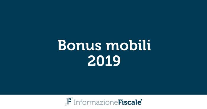 Bonus mobili 2019: requisiti, spese ammesse e come funziona la ...