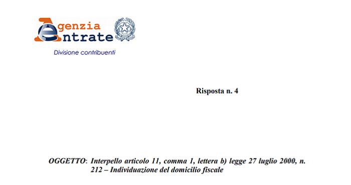 Campione D Italia Per Il Domicilio Fiscale Non Basta L Iscrizione