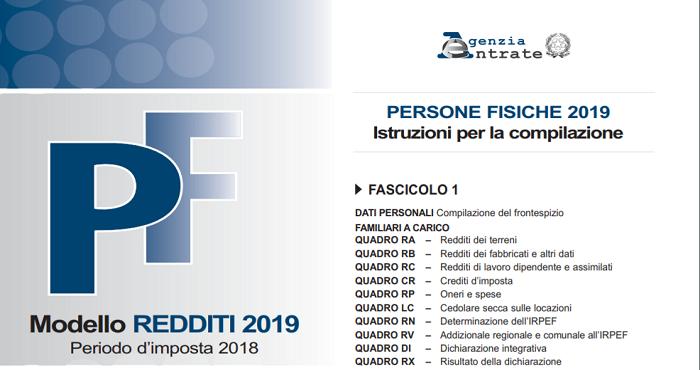 Modello Redditi 2019 E Istruzioni La Scadenza Torna Al 30 Settembre