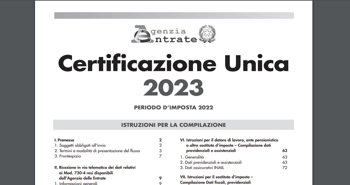 Certificazione Unica 2018 (ex Cud): Guida Pratica Per Lavoratori Dipendenti  E Autonomi | Informazione Fiscale