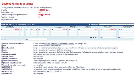 Istruzioni f24 elementi affordable dal primo gennaio il for F24 elide codice identificativo