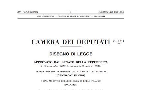 Camera, via libera al Dl fiscale: novità su Matera e diritti d'autore