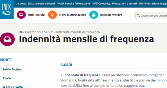 Indennità di frequenza 2019: requisiti, importo e come fare domanda