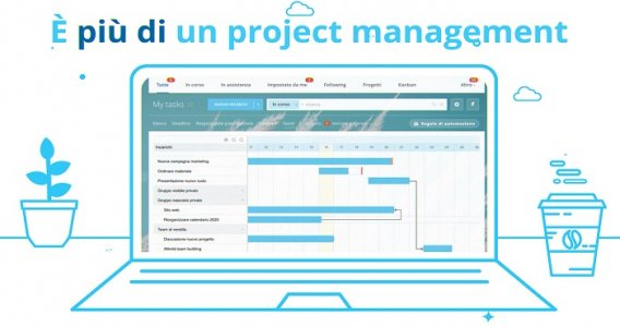 Bitrix24 è più di un Project Management